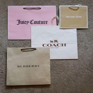 Burberry Coach Juicy Couture Michael Kors Bag LOT
